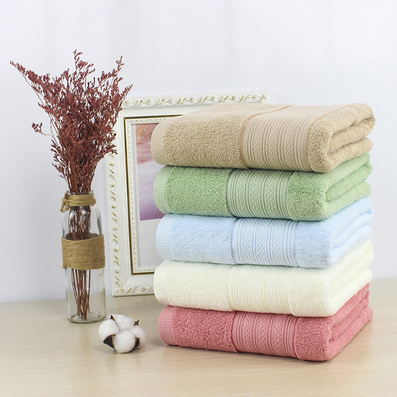 High Quality 100% Cotton Plain Luxury Hotel Towel